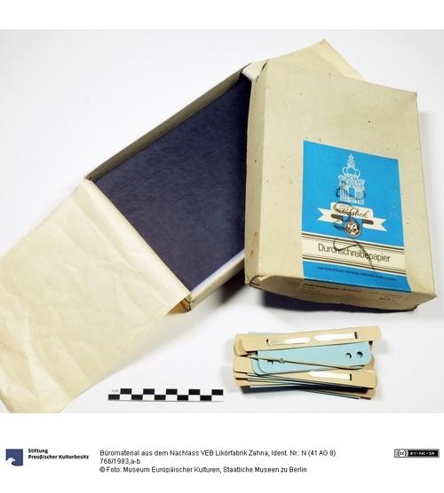Büromaterial Aus Dem Nachlass Veb Likörfabrik Zahna Museum